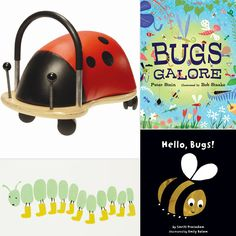 Summer is here, which means outside it's bugs, bugs everywhere! Get your kids in on the insect action with some awesome bug finds (and we're not talking insect repellent and after-bite ointment). From games and books to kiddie decor and items designed to inspire your little insect explorer, the following 12 finds prove that bugs can be fun for everyone — even if you steer clear of the real thing!