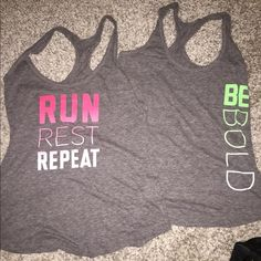 Old Navy workout Tanks NWOT.. 2 tanks .. Soft cotton material Old Navy Tops Tank Tops