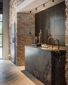 keuken kitchen baksteen