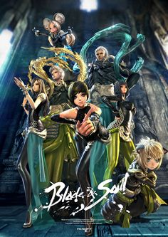 Blade and Soul MV Collection - Blade and Soul Fansite - Feature, News, Articles, Comments, Downloads, Videos, Gallery - MMOsite.com