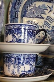 blue willow china - Google Search