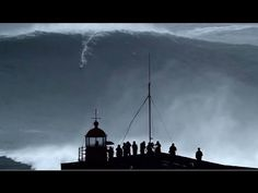 Biggest Giant wave in the world surfed 100ft at 02:50min (REAL FOOTAGE)Carlos Burle Portugal - YouTube