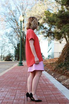 Pink and Orange - via @poorlilitgirl