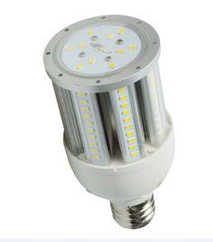 442.00$  Watch here  - North America free shipping high lumen 27W led corn light IP65  waterproof 100V/300V UL certified 12pcs/Lot for public  plaza
