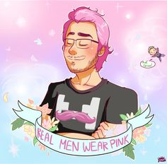 Real men wear Pink (and Green)
