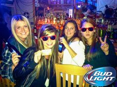 Fun times at #BudLight Night at Sandbar!! #AthensGA #Beer