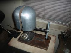 Antique Pioneer millinery Electric Hat Stretcher steampunk industrial #Pioneer
