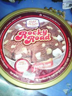 Rocky Road Ice Cream. 5-7-16