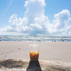 || Fine. I'll take my morning coffee with a side of ocean air. [A] #OUTINON #TravelTexas