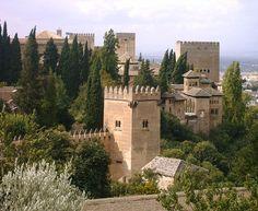 Castelo de Alhambra, Espanha.