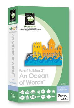 An Ocean of Words Cricut Cartridge