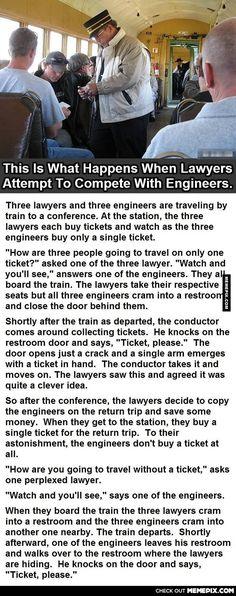 Lawyers Vs Engineers