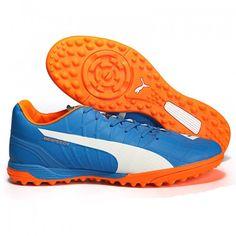 28ba9b0be368 Puma evoSPEED - Puma EVOSPEED 4.4 TT Mens Football Boots Blue Orange White