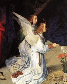 Hugo van der goes portinari triptych central angels below left - Category:Portinari Triptych - Wikimedia Commons
