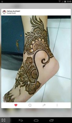 Arabic henna …