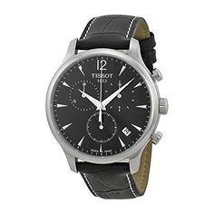 Tissot Mens T0636171605700 Black Dial Tradition Watch >>> Learn more by visiting the image link.