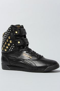 """Reebok The Alicia Keys x Reebok Dubble Bubble Studded Sneaker. Use my rep code """"tacocat"""" to get 20% off on this website karmaloop.com"""