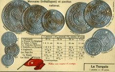 Turkey Coinage & Flag World Coins, Turkey, Flag, Personalized Items, Pennies, Peru, Science, Flags