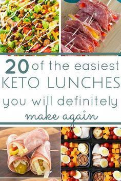 a whole month of low carb keto friendly lunch ideas. simple recipes for busy people. unboring lunch ideas you won't get bored with. keto diet keto lunches ketogenic what is keto keto lunch ideas meal prep make ahead meals Low Carb Lunch, Low Carb Diet, Carb Free Diet, Make Ahead Meals, Easy Meals, Simple Keto Meals, Potluck Meals, Easy Diabetic Meals, Ideas De Almuerzo Keto