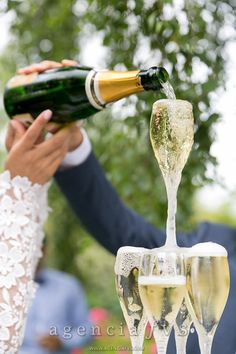 Fontaine de champagne [Mariage Gladis et Matthieu]
