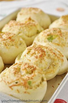 Garlic, Herb & Cheese Rolls Recipe