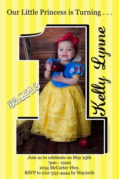 1st Birthday Cutout 1 Pix Birthday Invitations - CHOOSE YOUR COLOR SCHEME  -  Get these invitations RIGHT NOW. Design yourself online, download and print IMMEDIATELY! Or choose my printing services. No software download is required. Free to try!