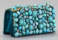 PRADA Clutch #Turquoise