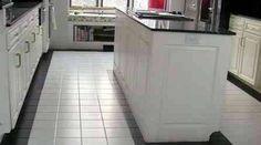 Attractive White Ceramic Floor Tiles Kitchen and white floor tiles in bathroom