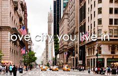 Ik denk dat de mensen die in Amerika heel blij zijn dat ze daar leven een land zoals Amerika heeft vele mogelijkheden