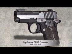 "Review: SIG Sauer P938 Equinox 9mm Subcompact Pistol ""Beauty Matters"" - YouTube"