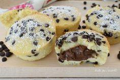 MUFFIN alla Nutella con Impasto alla Panna Sweets Recipes, Easter Recipes, No Bake Desserts, Cake Recipes, Muffins, Biscotti, Nutella Biscuits, Yummy Treats, Yummy Food