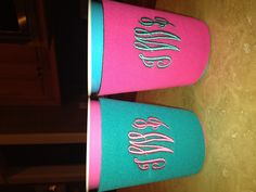 solo cup coozies :)