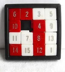 vintage toy - travel number puzzle game by christian montone - i remember busting the tiles out and putting them back n how i wanted!