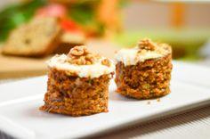 Low Carb Homemade Mini Carrot Cakes