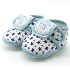 593e04c6 Moda Lindo Estampado de Estrellas del Niño Recién Nacido Bebé Cordón de Las  Muchachas de Suela
