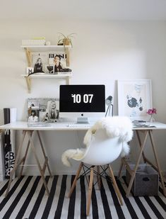 Home office of Michelle from TDC