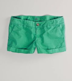 But will it be warm enought on St. Pat's Day to sport the AE Twill Cuffed Shortie? Mint Shorts, Neon Shorts, Cute Shorts, Bright Shorts, Color Shorts, Summer Shorts, Abercrombie Girls, Playing Dress Up, Types Of Fashion Styles