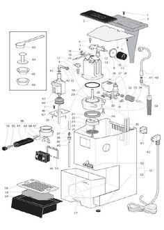 Gaggia Classic - Parts Diagram