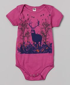 Look at this Wugbug Raspberry Buck Organic Bodysuit - Infant on #zulily today!
