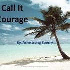Call it Courage by Armstrong Sperry PowerPoint Preview. Includes information about the Newbery Medal, About the Author, Main Character, Vocabulary...