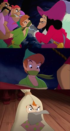 Peter Pan's Abduction by Gaggedlads on @DeviantArt