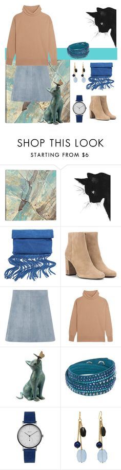 """""""Chillin' On New Year's Day"""" by christined1960 ❤ liked on Polyvore featuring iCanvas, LULUS, Yves Saint Laurent, Diane Von Furstenberg, Iris & Ink, Improvements and Swarovski"""