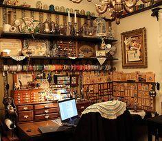 Gorgeous craft room