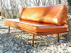 Leather Daybed, Ikat Sofa, & More