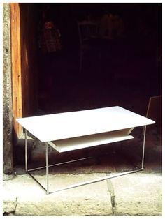 Table Bistrot Recr E En Fonte Et Ch Ne Meubles Et Rangements Par Lacaverne89 Mes
