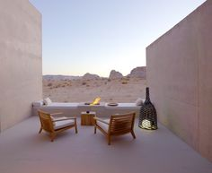 Tour a Minimalist Luxury Hotel in the Desert (24 Photos) - Rover at Home
