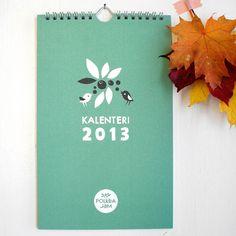 Polkka Jam calendar 2013.