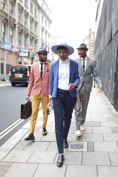 everyone's getting their dapper on for #MFW London.