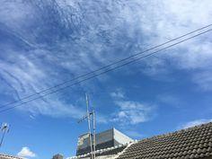#sky #blue #cloud #bluesky #cloudyday