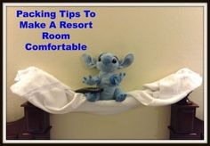 Tips to make a Walt Disney World Resort room stay comfortable and how to keep the resort room tidy